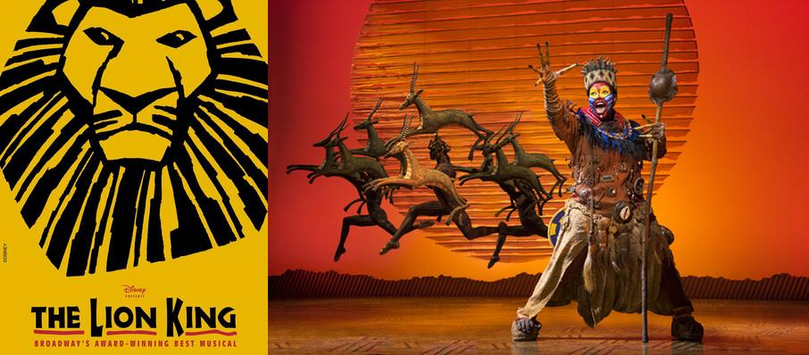 The Lion King at ASU Gammage Auditorium