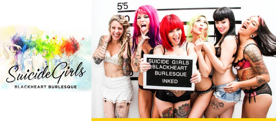 The Suicide Girls - Blackheart Burlesque at Marquee Theatre
