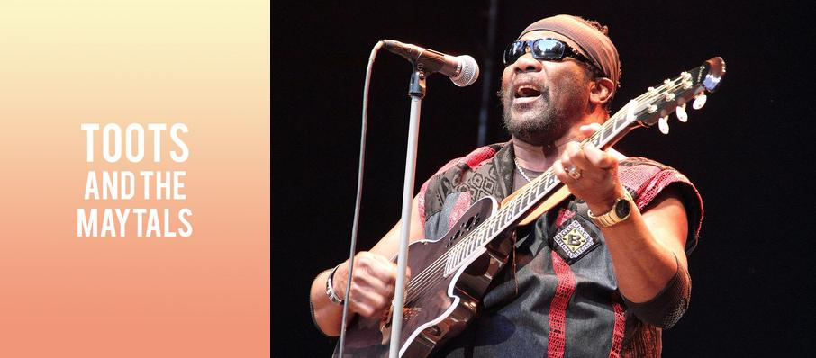 Toots and the Maytals at Marquee Theatre