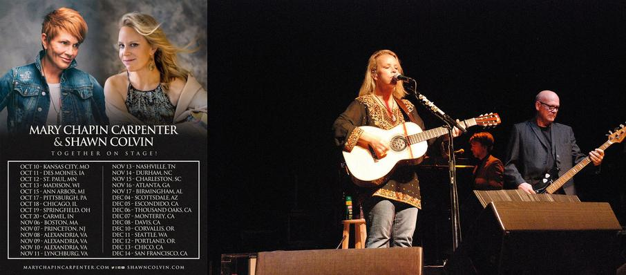 Mary Chapin Carpenter and Shawn Colvin at Virginia G Piper Theater
