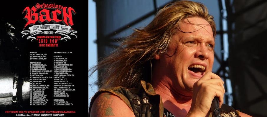 Sebastian Bach at Marquee Theatre