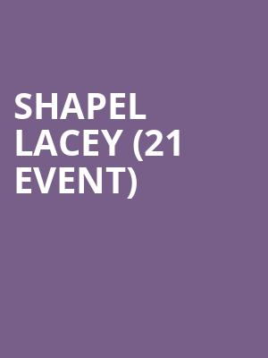 Shapel Lacey (21+ Event) at Tempe Improv